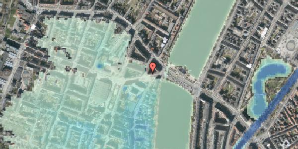 Stomflod og havvand på Rosenørns Allé 8, 3. 4, 1634 København V