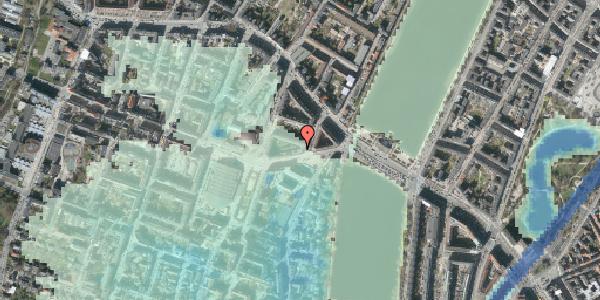Stomflod og havvand på Rosenørns Allé 10C, 1. th, 1634 København V