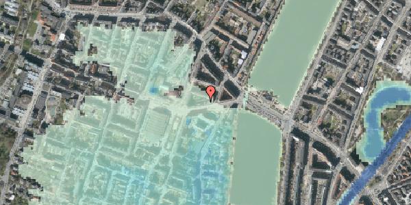 Stomflod og havvand på Rosenørns Allé 10D, 5. th, 1634 København V