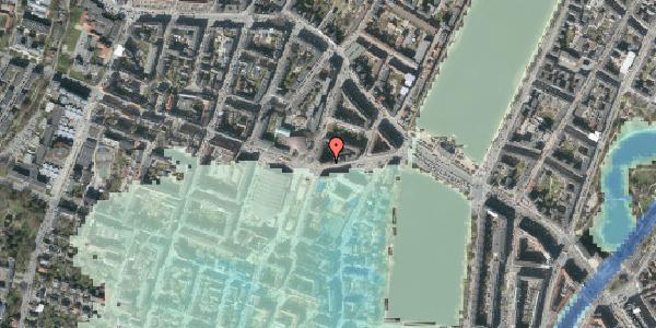 Stomflod og havvand på Rosenørns Allé 16, 4. , 1634 København V