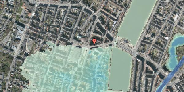 Stomflod og havvand på Rosenørns Allé 16, 5. , 1634 København V