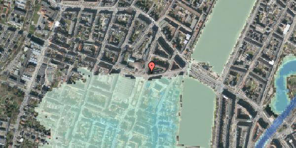 Stomflod og havvand på Rosenørns Allé 18, kl. tv, 1634 København V