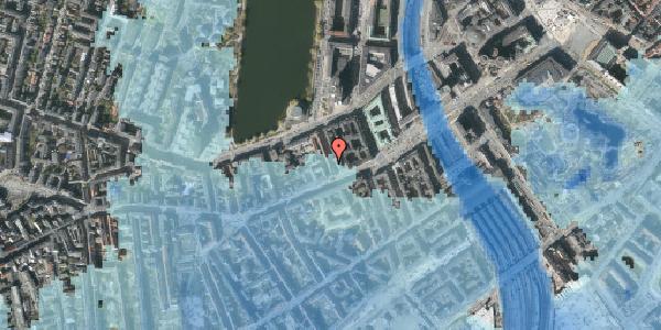 Stomflod og havvand på Sankt Jørgens Allé 3, 1. th, 1615 København V