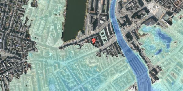 Stomflod og havvand på Sankt Jørgens Allé 4, kl. th, 1615 København V