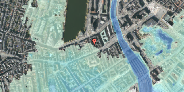 Stomflod og havvand på Sankt Jørgens Allé 4, st. tv, 1615 København V