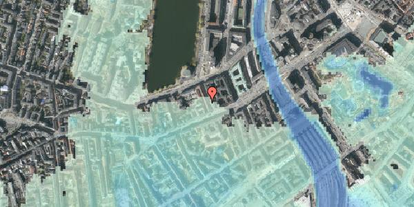 Stomflod og havvand på Sankt Jørgens Allé 5, 2. th, 1615 København V