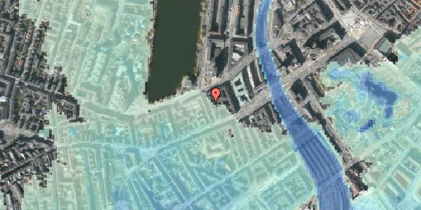 Stomflod og havvand på Sankt Jørgens Allé 6, kl. , 1615 København V