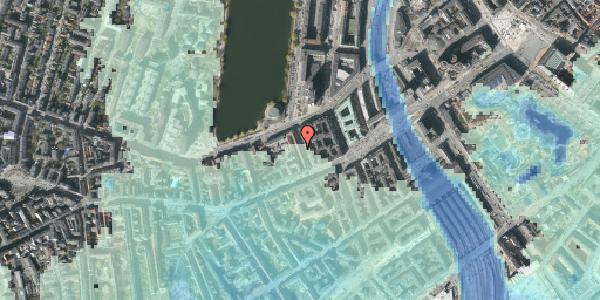 Stomflod og havvand på Sankt Jørgens Allé 7, 4. th, 1615 København V
