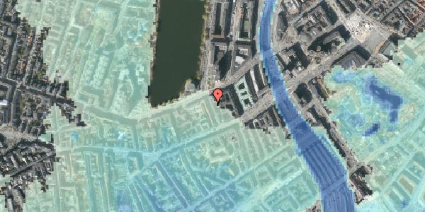 Stomflod og havvand på Sankt Jørgens Allé 8, 3. tv, 1615 København V