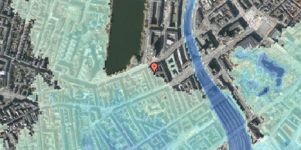 Stomflod og havvand på Sankt Jørgens Allé 8, 4. th, 1615 København V