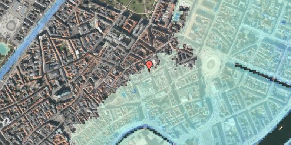 Stomflod og havvand på Silkegade 17, 3. th, 1113 København K