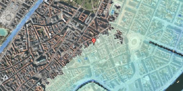 Stomflod og havvand på Silkegade 19, kl. , 1113 København K