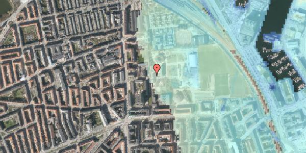 Stomflod og havvand på Sionsgade 5B, 2100 København Ø
