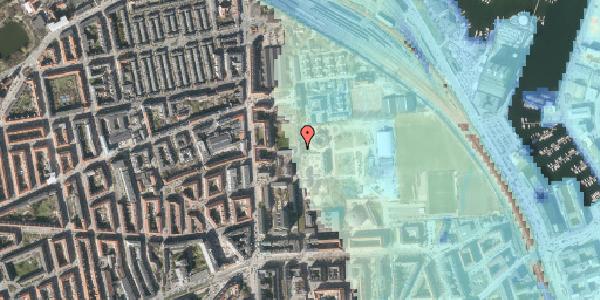 Stomflod og havvand på Sionsgade 5C, 2. tv, 2100 København Ø