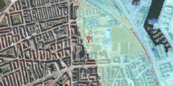 Stomflod og havvand på Sionsgade 5E, 2100 København Ø
