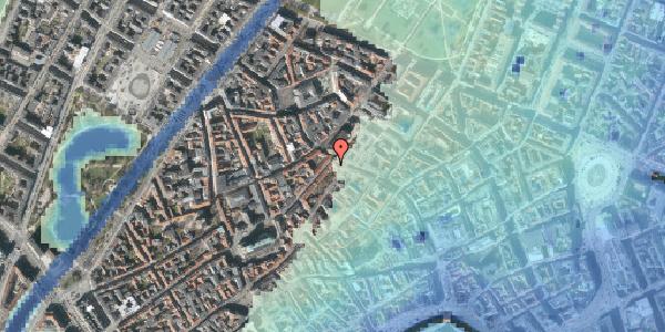 Stomflod og havvand på Skindergade 2B, 4. , 1159 København K