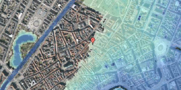 Stomflod og havvand på Skindergade 2C, 3. tv, 1159 København K