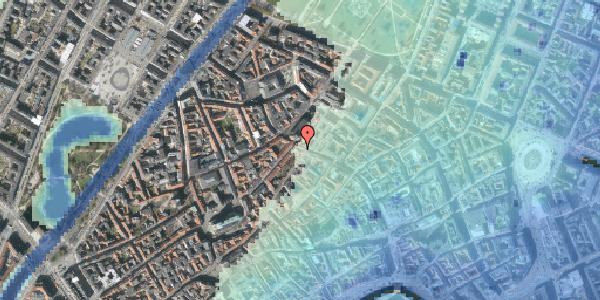 Stomflod og havvand på Skindergade 2C, 4. tv, 1159 København K