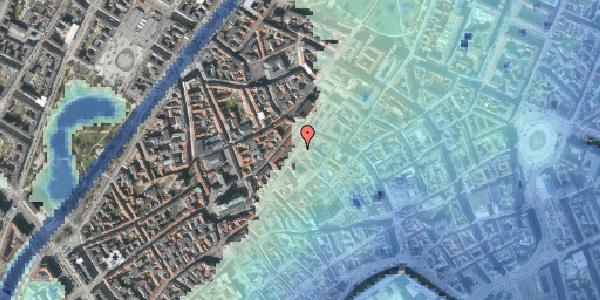 Stomflod og havvand på Skindergade 7, st. th, 1159 København K