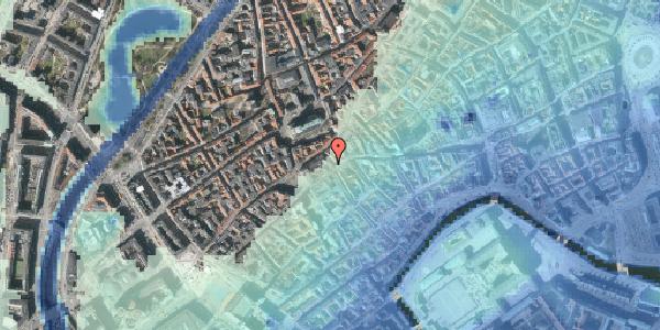 Stomflod og havvand på Skoubogade 1, kl. , 1158 København K