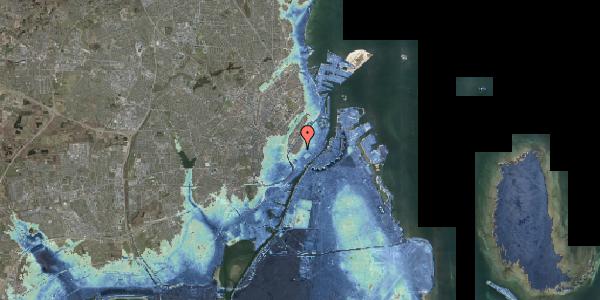 Stomflod og havvand på Skoubogade 5, kl. 1, 1158 København K