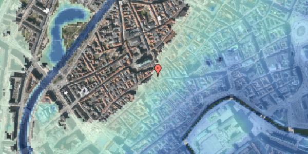 Stomflod og havvand på Skoubogade 6, 1. , 1158 København K