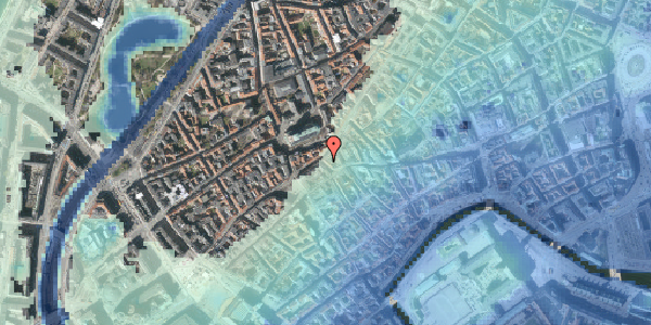 Stomflod og havvand på Skoubogade 6, 2. , 1158 København K