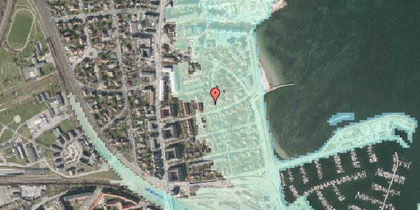 Stomflod og havvand på Solvænget 11, 2100 København Ø