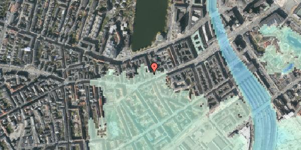 Stomflod og havvand på Stenosgade 1, 5. , 1616 København V