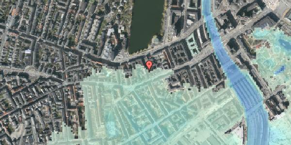Stomflod og havvand på Stenosgade 3, 4. th, 1616 København V