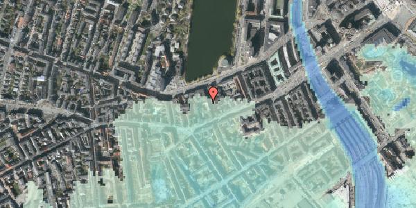 Stomflod og havvand på Stenosgade 5, st. th, 1616 København V