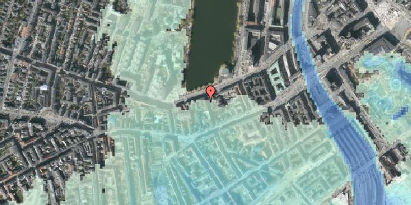 Stomflod og havvand på Stenosgade 9, 4. th, 1616 København V