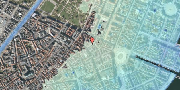 Stomflod og havvand på Store Regnegade 3, 4. , 1110 København K