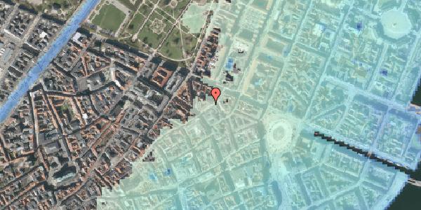 Stomflod og havvand på Store Regnegade 5, 2. tv, 1110 København K