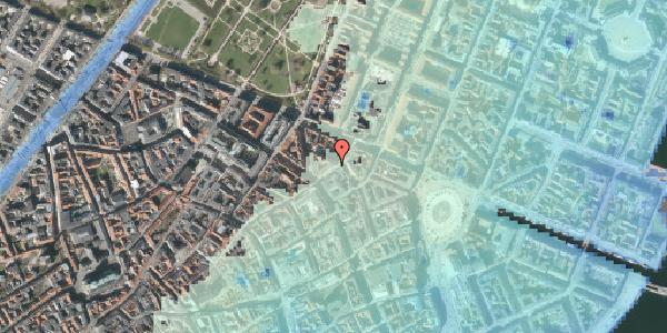 Stomflod og havvand på Store Regnegade 5, 4. tv, 1110 København K