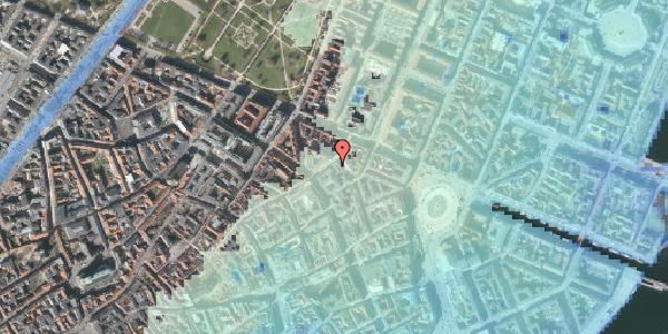 Stomflod og havvand på Store Regnegade 12, kl. , 1110 København K