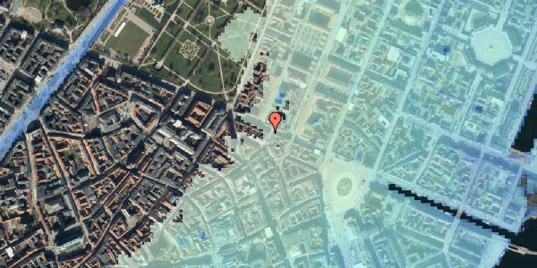 Stomflod og havvand på Store Regnegade 19A, 2. mf, 1110 København K