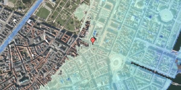 Stomflod og havvand på Store Regnegade 19A, 3. tv, 1110 København K