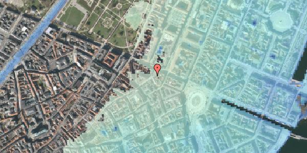 Stomflod og havvand på Store Regnegade 24, kl. , 1110 København K
