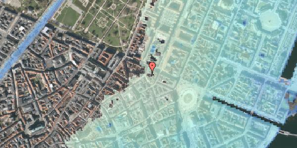 Stomflod og havvand på Store Regnegade 26A, 3. tv, 1110 København K