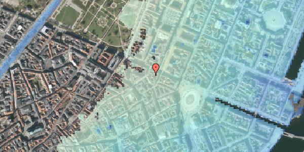 Stomflod og havvand på Store Regnegade 26C, 4. th, 1110 København K