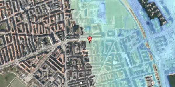 Stomflod og havvand på Strandboulevarden 137, 3. tv, 2100 København Ø