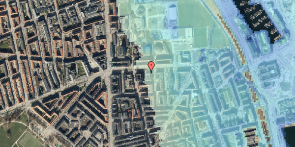 Stomflod og havvand på Strandboulevarden 137, 4. tv, 2100 København Ø