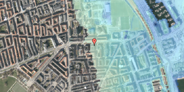 Stomflod og havvand på Strandboulevarden 137, 5. th, 2100 København Ø