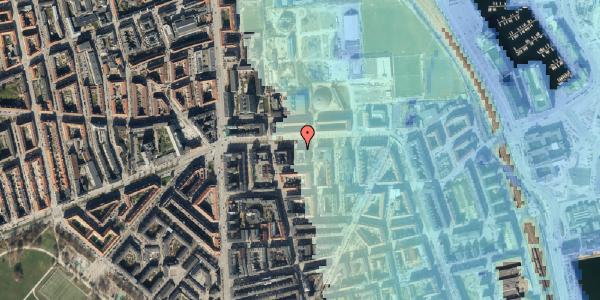 Stomflod og havvand på Strandboulevarden 137, 5. tv, 2100 København Ø