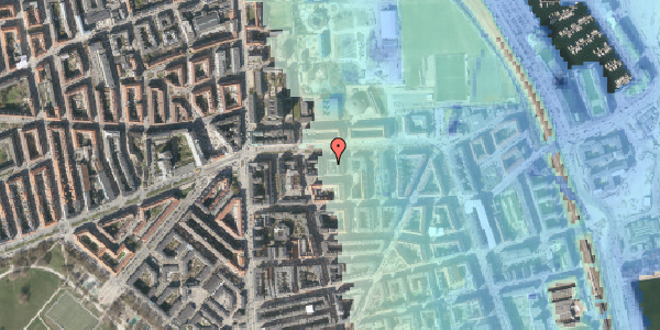 Stomflod og havvand på Strandboulevarden 139, 3. th, 2100 København Ø