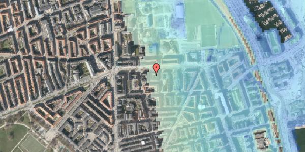 Stomflod og havvand på Strandboulevarden 139, 5. tv, 2100 København Ø