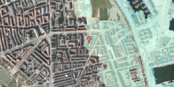 Stomflod og havvand på Svendborggade 1, 5. 76, 2100 København Ø