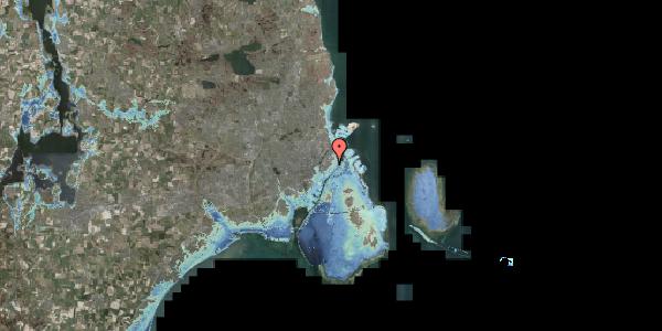 Stomflod og havvand på Sværtegade 3, kl. , 1118 København K