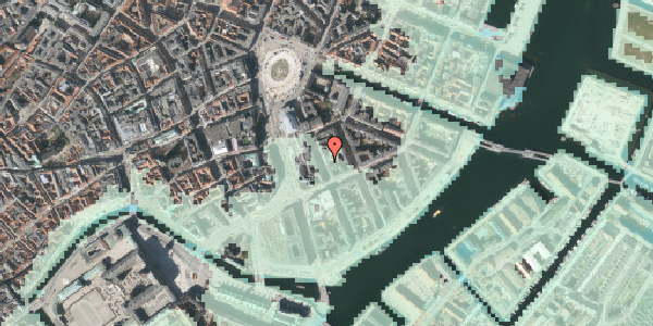 Stomflod og havvand på Tordenskjoldsgade 15, 1055 København K